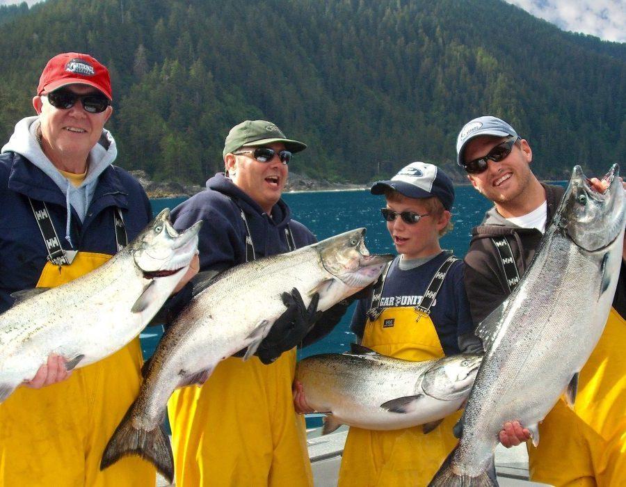 Alaska Salmon Fishing Lodge - Luxury